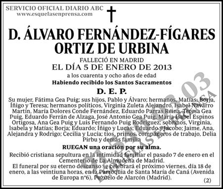 Álvaro Fernández-Figares Ortiz de Urbina
